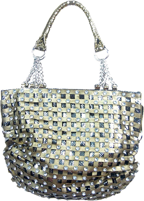 Zzfab Net Bling Handbag