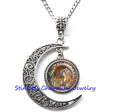 Art pendant theater necklace thespian gift actress gift, theater student gift theatre jewelry,photo