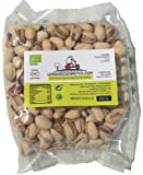 Pistachio Nuts Organic with Premium Quality from Spain (750g of Roasted Whole Organic Pistachios, Slightly Salted, Natural, Healthy and eco-Friendly), from Losquesosdemitio