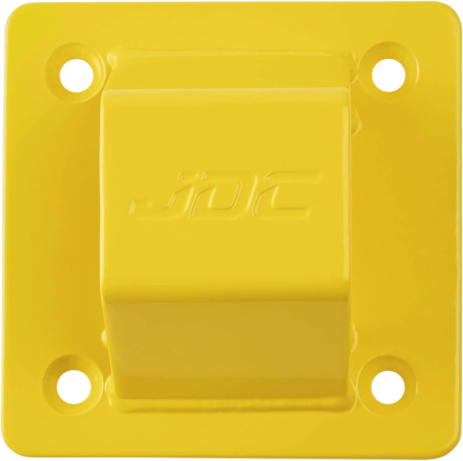 SPHERE JDC Motorcycle Ground Anchor Heavy Duty Hardened Steel Yellow
