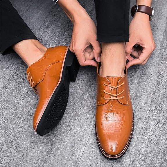 33155cb7 Consejos Informales de Oxford para Hombres con Zapatos Formales de Tendencia  Juvenil Transpirable: Amazon.es: Zapatos y complementos