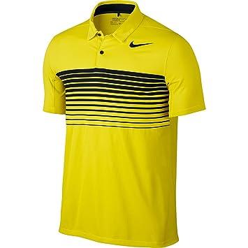 7ed697ba Nike Men's Mobility Speed Stripe Short Sleeve Golf Polo: Amazon.co ...