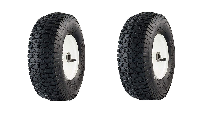 3//4 Bushings 3 Hub Air Filled Marathon 20336 13x5.00-6 Pneumatic Tire on Wheel Pack of 2