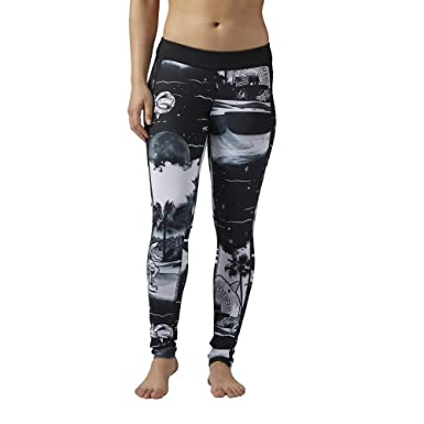 4a0f0ce1df1482 Reebok Women's Crossfit Tights - Deckosphere Black X-Large at Amazon  Women's Clothing store: