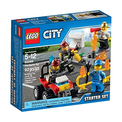 Buy LEGO City Fire Starter Set Online at Low Prices in India - Amazon.in