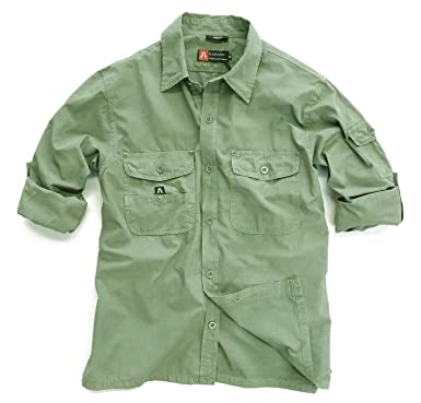 KakaduTraders Australia Mens Outdoor Safari Shirt Concord