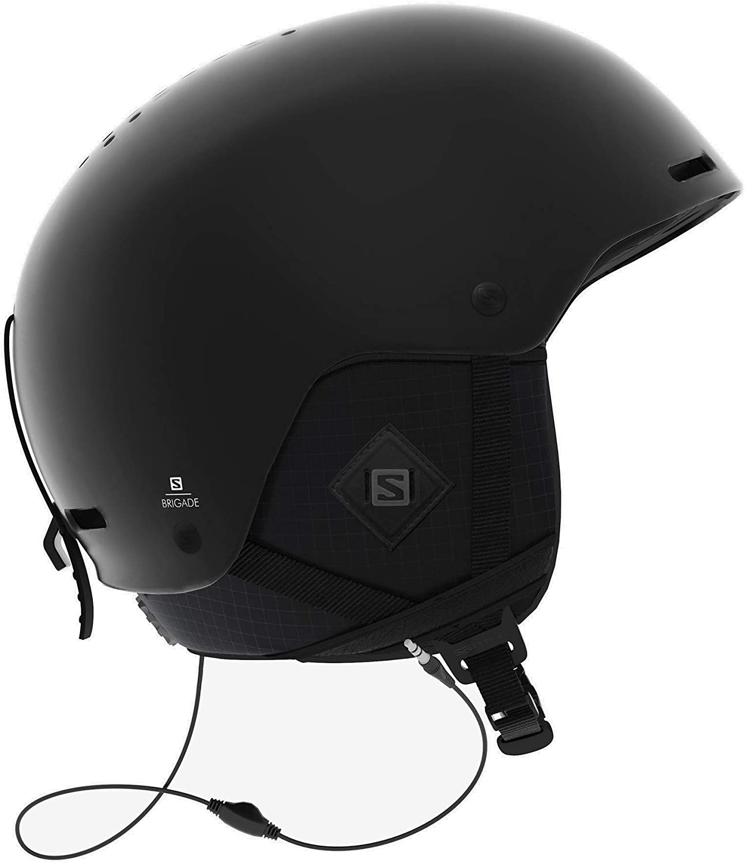 Salomon Brigade+ Audio Ski Helmet Mens