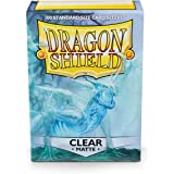 Dragon Shield Sleeves Matte Card Game, Clear