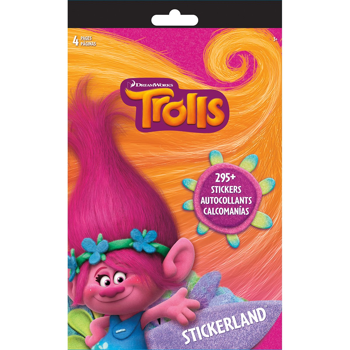 Trolls Stickerland Pad 295 Stickers