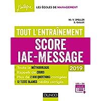 Score IAE-Message - Tout l'entraînement - 2019