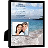 25th Anniversary Gift for a Special Couple – 25th Anniversary Poem in 8x10 Inch Frame - Add Photo