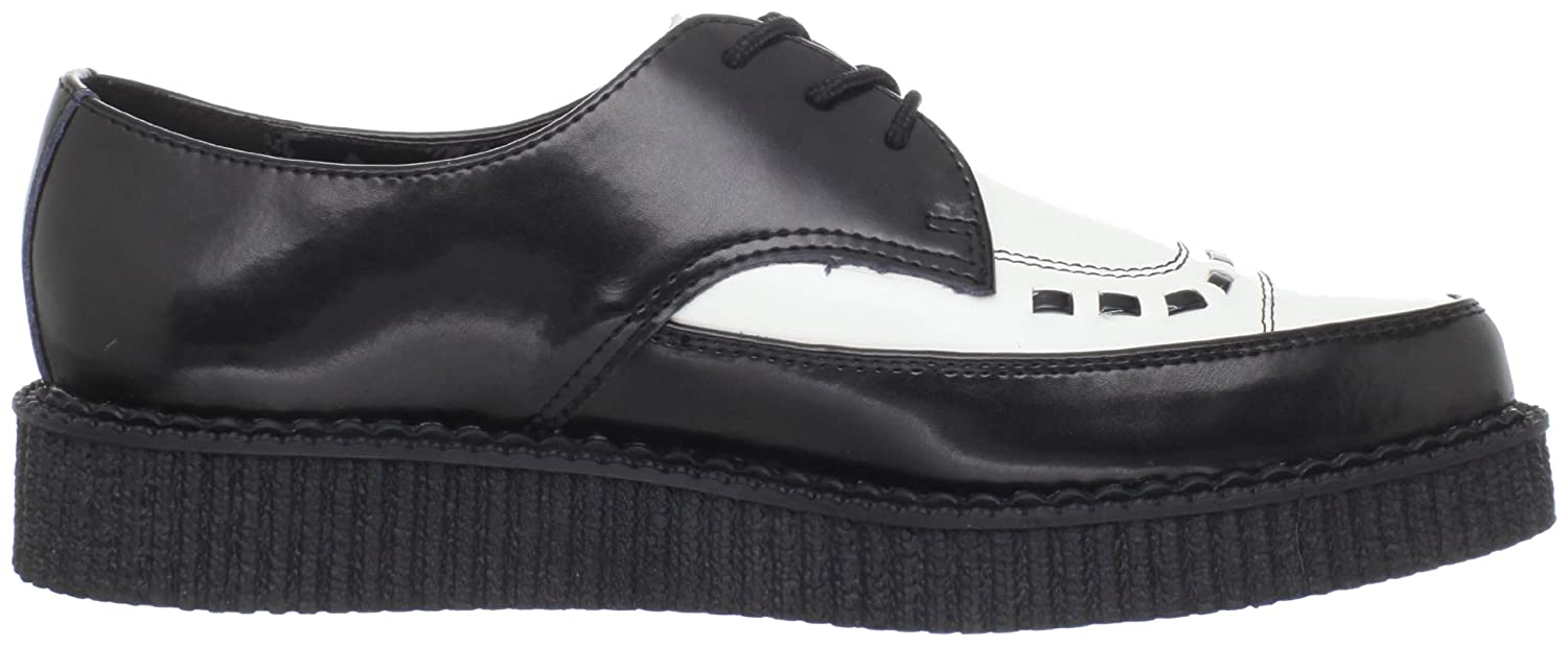 T.U.K Unisex A8140 Pointed Creeper Casual Lace Ups: Amazon.co.uk: Shoes &  Bags