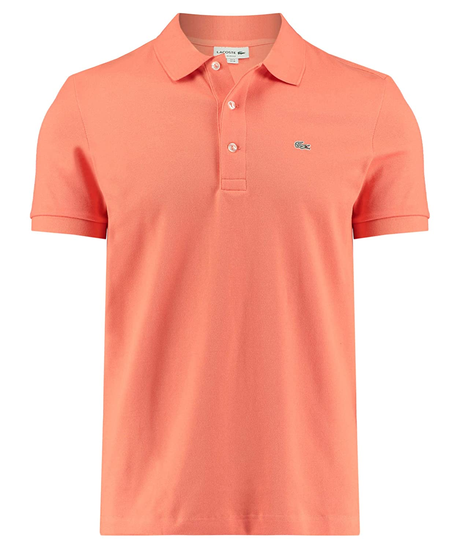 Orange S Lacoste Polo Slim Fit Orange Homme