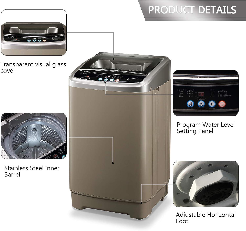 WANAI Portable Washing Machine Washer Spinner 1.6 cu.ft/15lbs ...