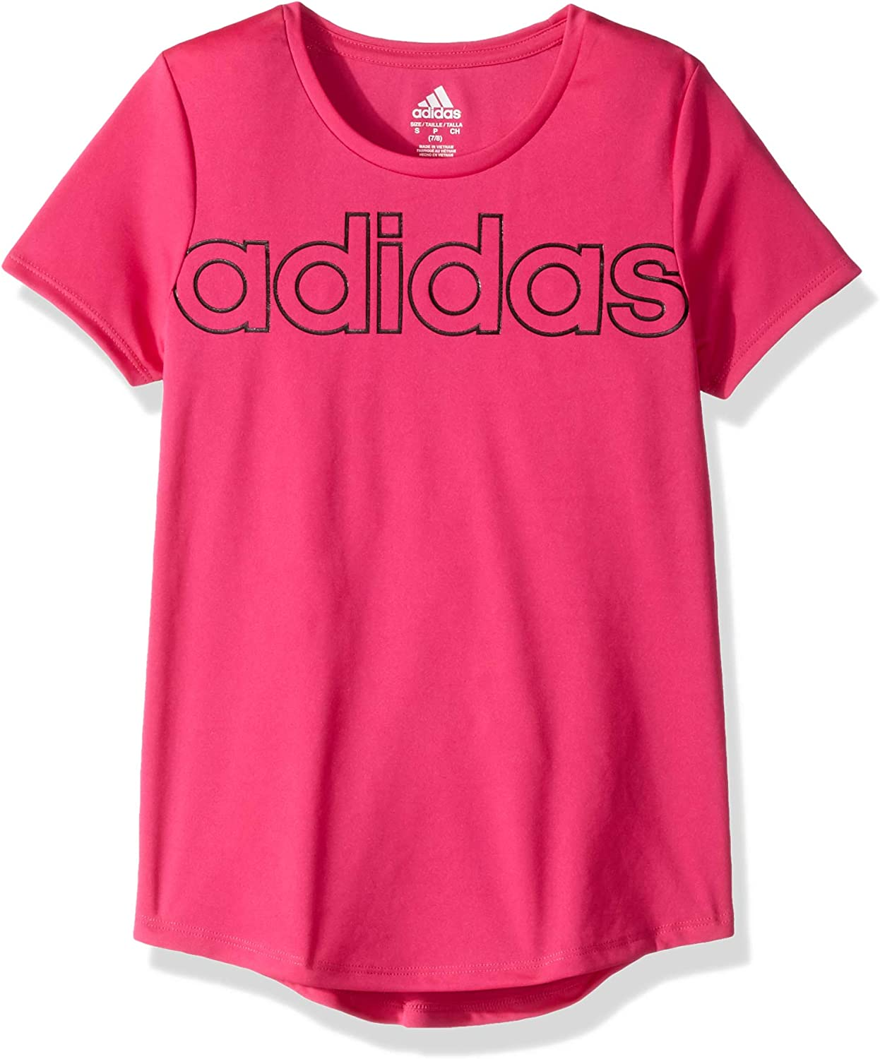adidas Girls Scoop Neck Tee