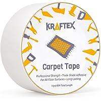 Originele Tapijt Tape 30ft Roll, voor tapijten, Matten, Pads, Runners [Anti Slip Non Skid Technology] Indoor Gripper…