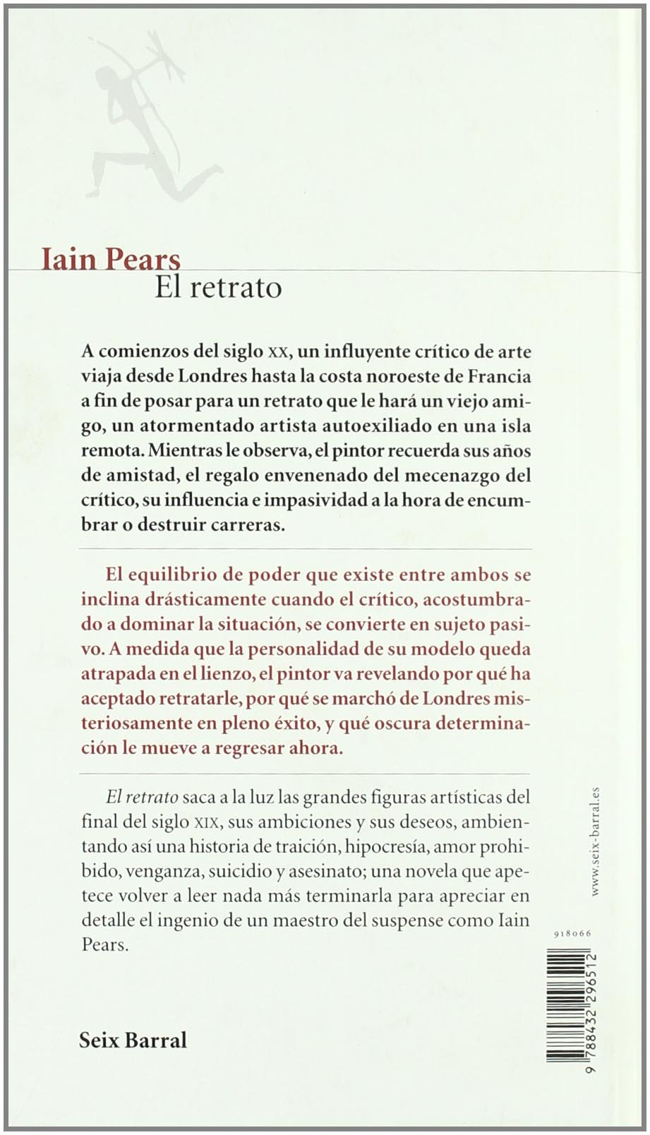Amazon.com: El Retrato (Otros Titulos) (Spanish Edition) (9788432296512): Iain Pears: Books