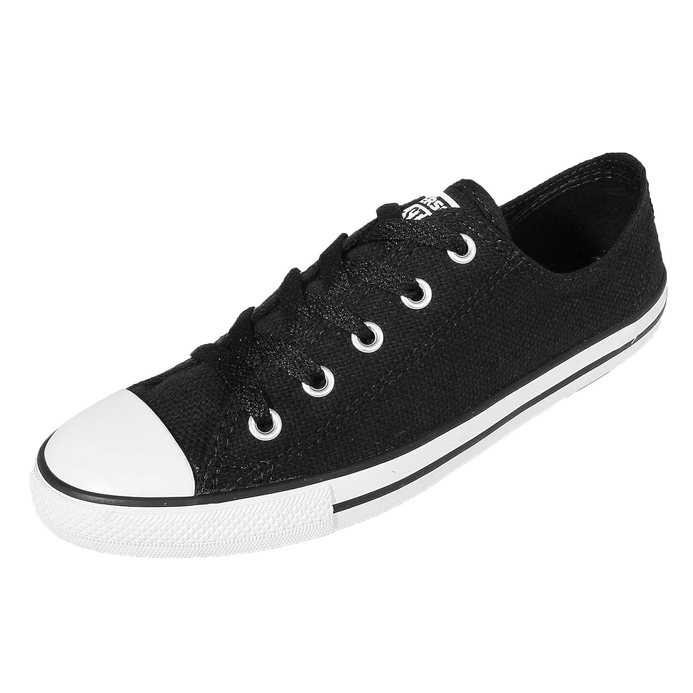 Converse Woman Dainty OX Sneaker Black