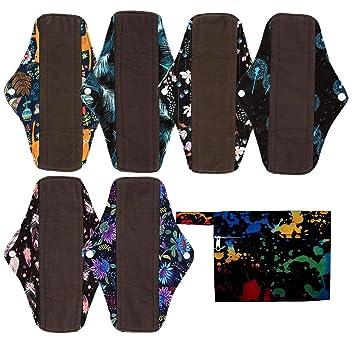 Amazon.com: Juego de 7 mini bolsas húmedas + 6 almohadillas ...