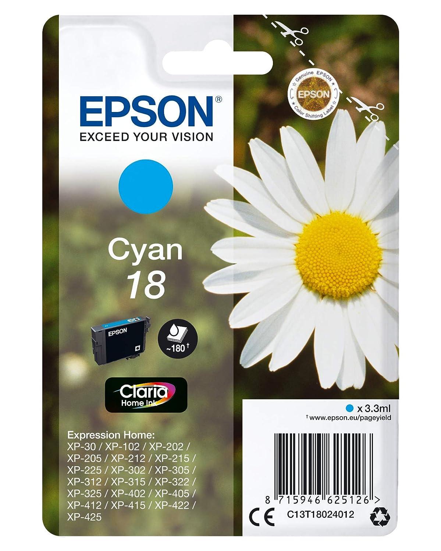 Epson C13T18044022 - Cartucho de tinta: Amazon.es: Electrónica