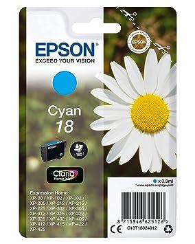 Cartucho 18 cian (etiqueta RF) cartucho de tinta: Amazon.es ...