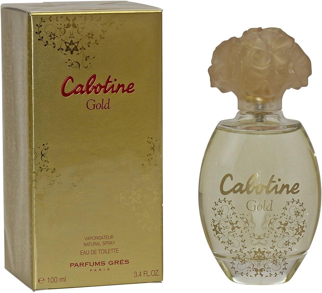Cabotine Gold By Parfums Gres Eau De Toilette Spray 3.4 Oz