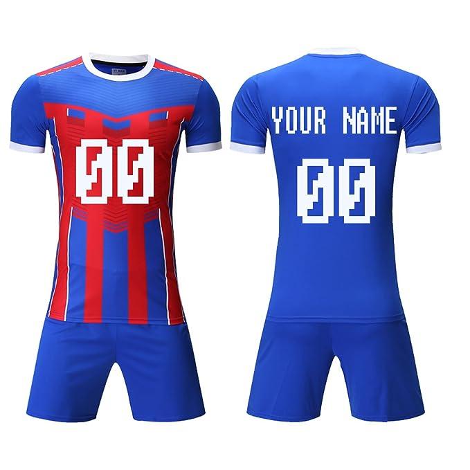 Amazon.com: Personalizado fútbol traje Kit de entrenamiento ...