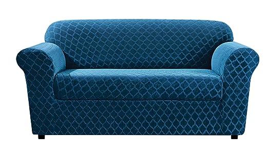 Funda para sillón elástica de Sure Fit, color azul nilo - 2 ...