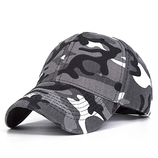 Nutsima Snow Camo Baseball Caps Men Summer Mesh Cap Tactical Camouflage Hat for Men Women Bone Masculino Dad Hat Caps at Amazon Mens Clothing store:
