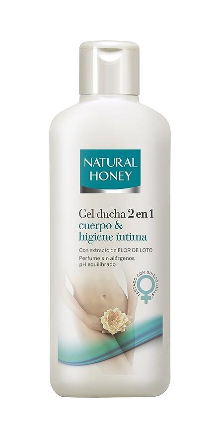 Natural Honey 2 en 1 Gel de Cuerpo y Higiene Intima - 600 ml