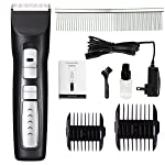 2-Speed Professional Pet Clippers for Dogs Heavy Duty, Premium Pet Grooming Clippers for Thick Coats Dogs / Cats / Horses
