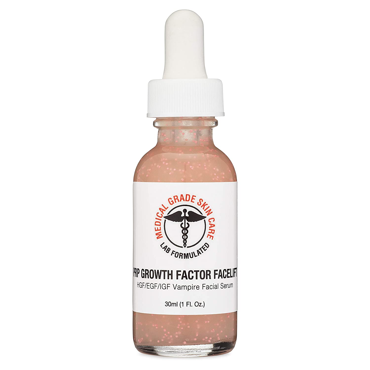 EGF PRP Serum by Medical Grade Skin Care | Epidermal Growth Factor, HGF, IGF Facial Serum