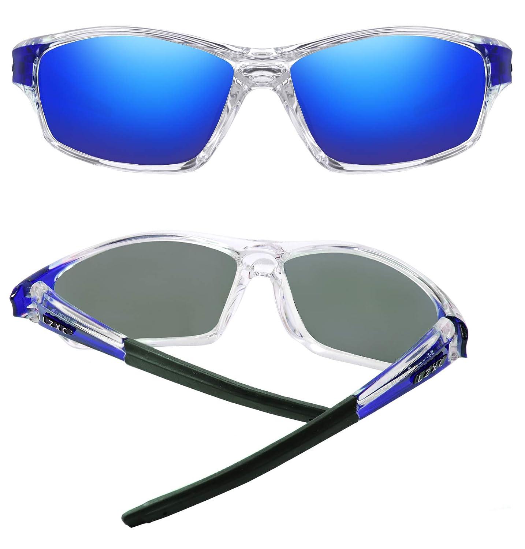 Ciclismo Protecci/ón UV400 Para Conducir LZXC Gafas de Sol Polarizadas Para Hombre con Montura Ultraligera