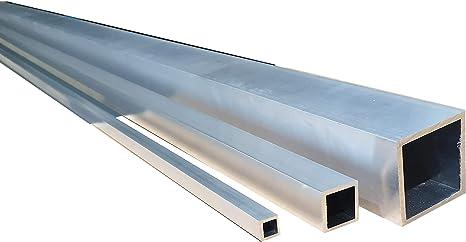 Aluminium Vierkantrohr//Rechteckrohr 30 x 20 x 2 mm x 1.500+-4 mm