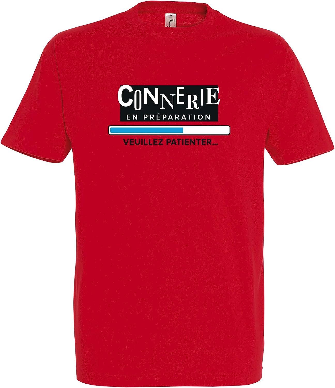 Boutique KKO T-Shirt Connerie en Pr/éparation