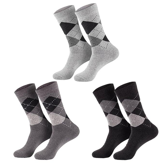 6 pares de calcetines de invierno hombre vollfrotte: Amazon.es: Ropa y accesorios