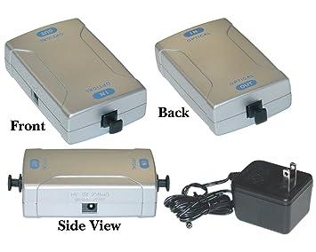 Offex al por mayor Fibra Óptica Digital (Toslink) amplificador de señal