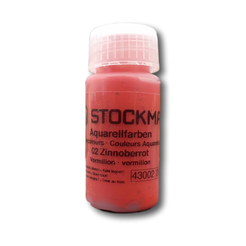 Stockmar Watercolor Vermillion ST43002