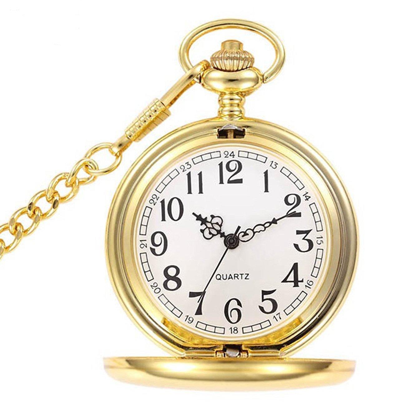 Personalizado grabado reloj de de reloj bolsillo collar con cadena  libre grabado c3ea31