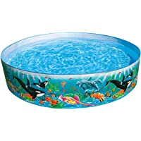 Intex Ocean Coral Reef Snapset Instant Kids Childrens Swimming Pool, 58461Ep
