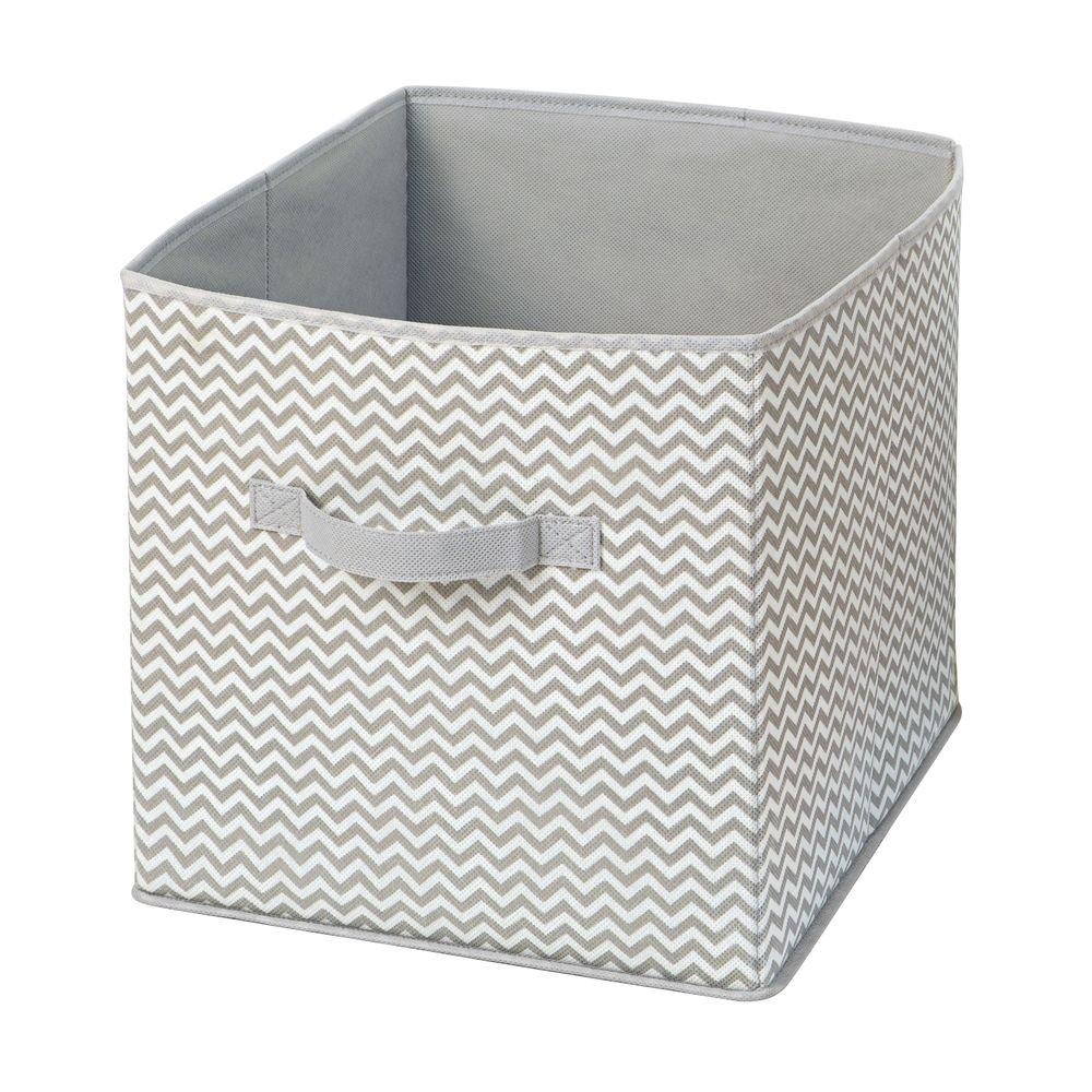InterDesign IDjr Rugby Storage Cube, Set of 1 05700