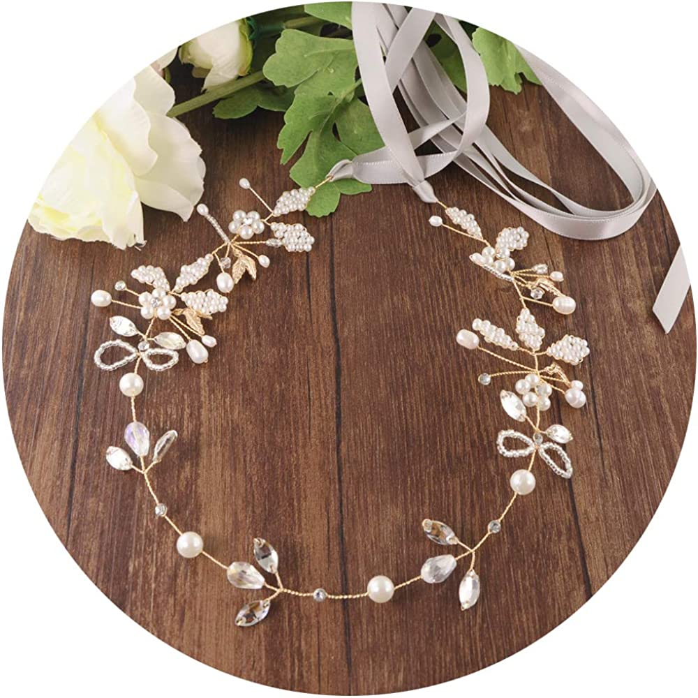 Azaleas Gold Leaf Crystal Bridal Sash Wedding Belt Wedding Dress Sash Headband Belt