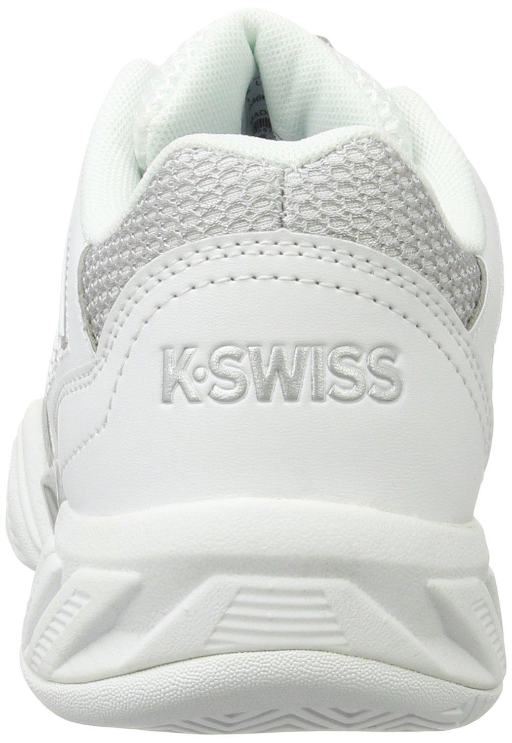 K-Swiss Bigshot Light 3 Womens Tennis Shoe B01M7QIVPL 11 B(M) US|White/Silver