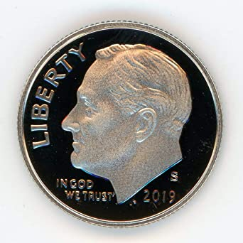 Gem Proof Deep Cameo 1993 S CLAD PROOF Roosevelt Dime