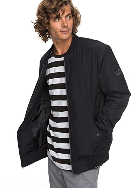 Amazon.com: Quiksilver Men s charveen, S, Negro: Clothing