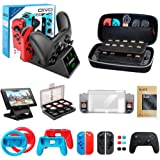 Accessories kit bundle for nintendo switch,...