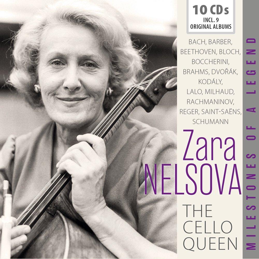 Tbc - The Cello Queen Pack 10Cd: Zara Nelsova, Bach: Amazon.es: Música