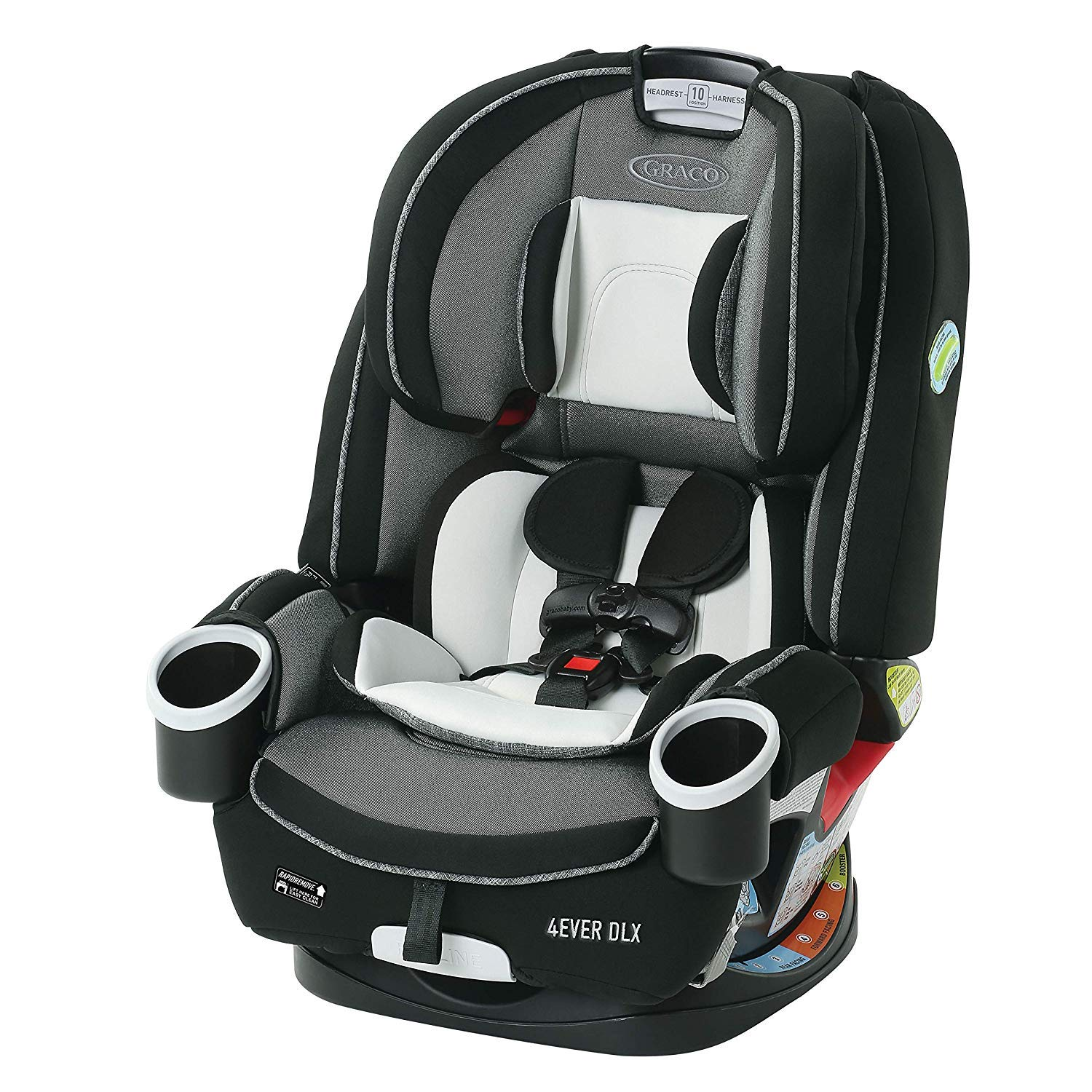 Graco 4Ever DLX 4-in-1 Car Seat, Fairmont