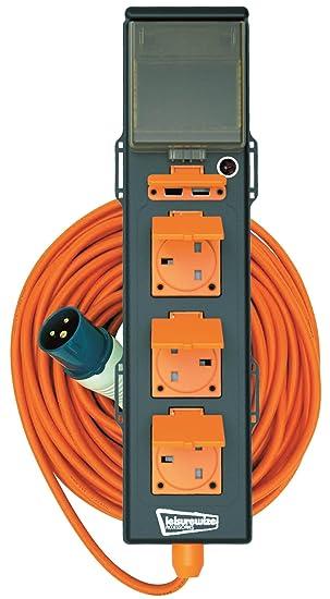 3 socket mobile mains hook up