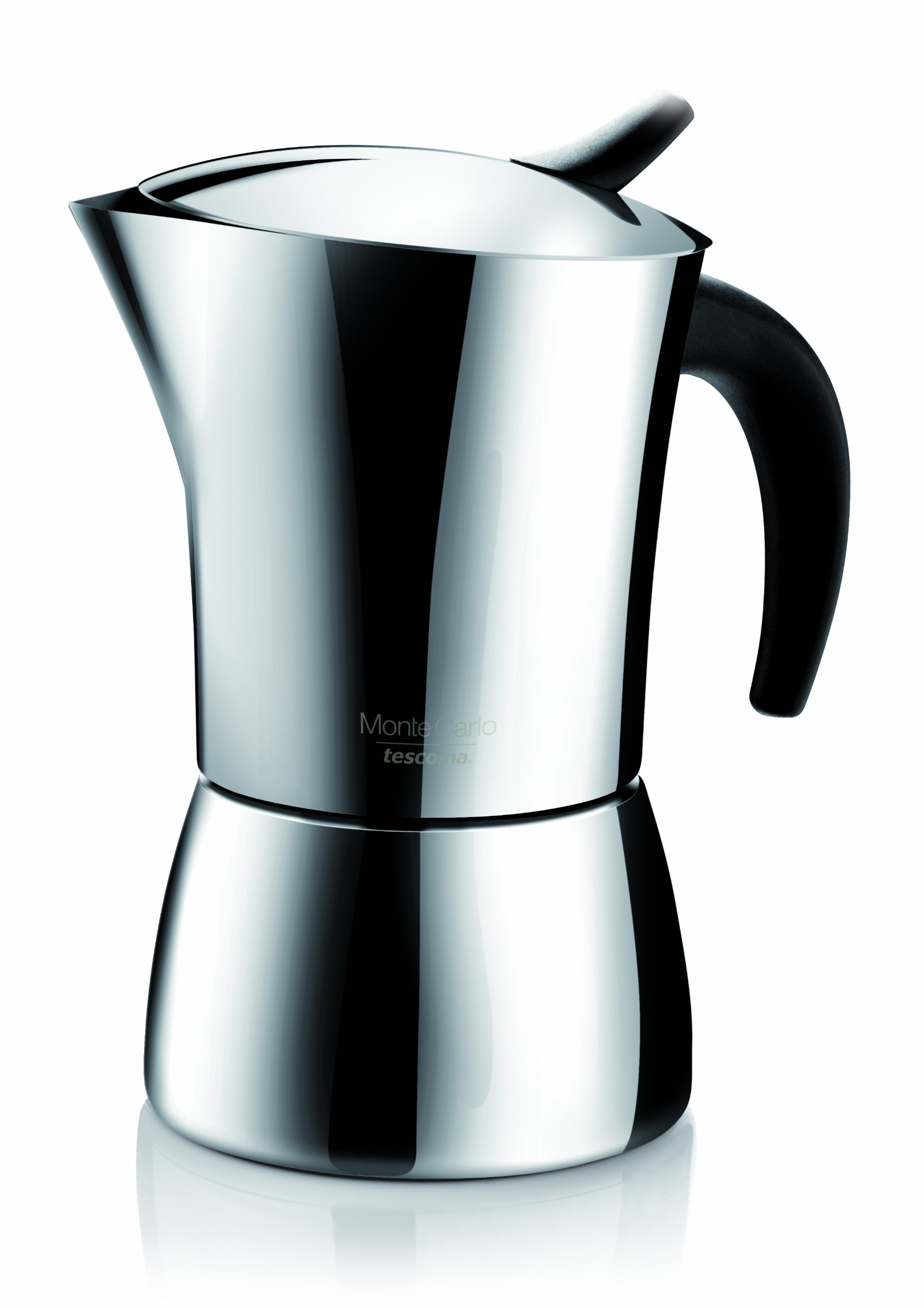 Tescoma:''Monte Carlo'' Stainless Steel Coffee Maker 4-Cups